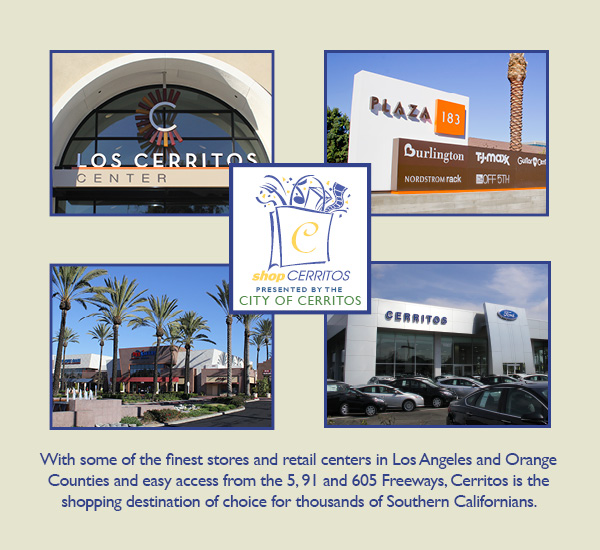 With some of the finest stores and retail centers in Los Angeles and Orange Counties and easy access from the 5, 91 and 605 Freeways, Cerritos is the shopping destination of choice for thousands of Southern Californians.